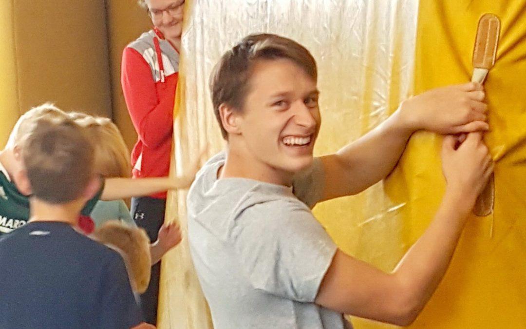 Bundes-Freiwilligen Dienst Simon Palitzer folgt für Erik Fiedler als neuer BuFDi