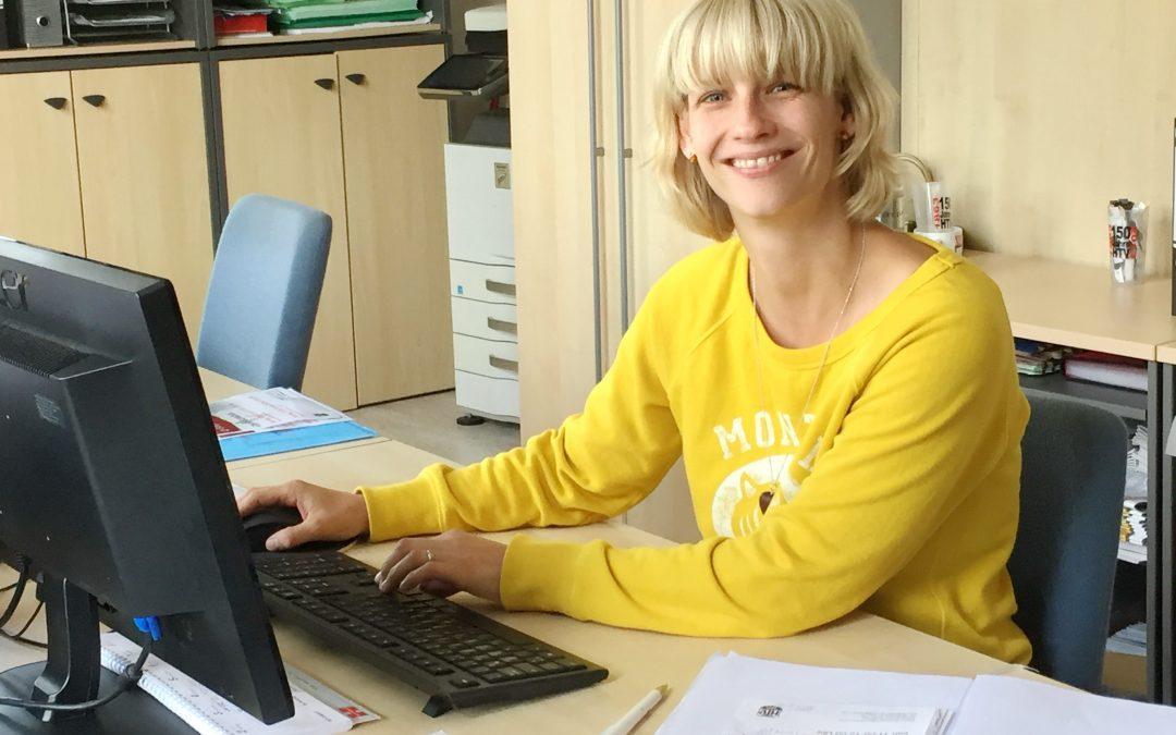 Verstärkung in der Geschäftsstelle Tanja Dusso verstärkt seit September das Geschäftsstellenteam