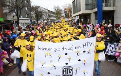 HTV goes Olympia! – Sei dabei! Kinder-Karnevals-Zug in Haan, Sonntag, den 23.02.2020