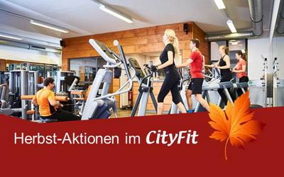 Herbst-Aktionen im CityFit Angebote für Neueinsteiger