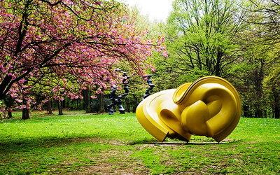 HTV-Aktionstag am 19.10.2021 Führung durch den Skulpturenpark Waldfrieden in Wuppertal.